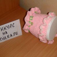 Чепчик Розовое Чудо